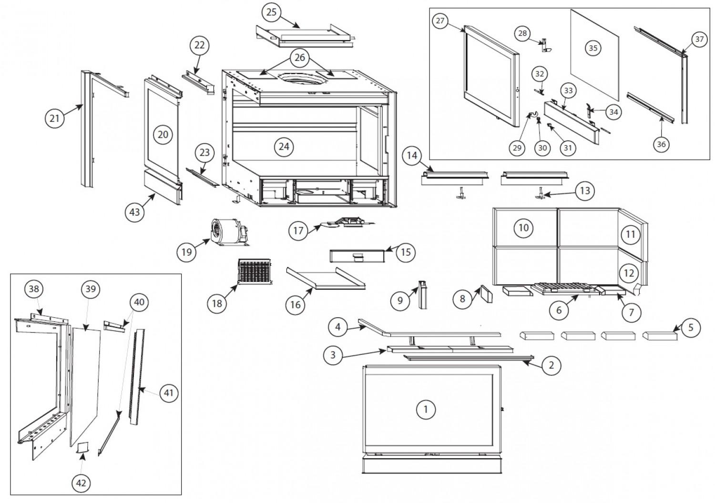 vente pi ces d tach es infire 745 scope. Black Bedroom Furniture Sets. Home Design Ideas