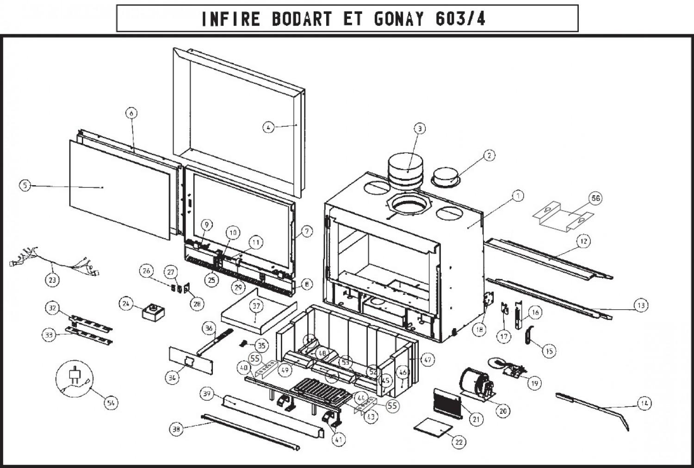 vente pi ces d tach es infire 603 604 classic. Black Bedroom Furniture Sets. Home Design Ideas