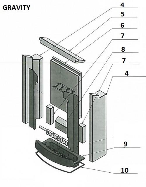vente pi ces d tach es koppe gravity. Black Bedroom Furniture Sets. Home Design Ideas